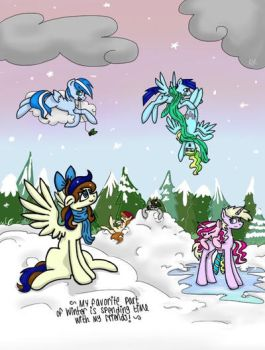 Winter Fun by AlyssumMay