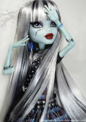 monster high frankie with bang by markuzroyale