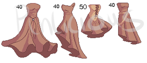 Clothing Adoptables II :CLOSED: by Pinlicous-Bases