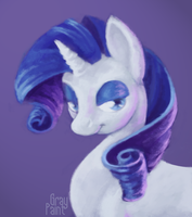 Stars in her eyes by GrayPaint