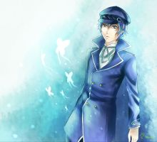Naoto - Butterflies by GoldieAuvs