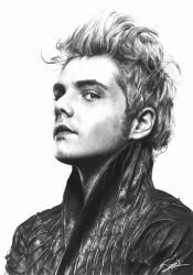 Gorgeous Alien Gerard Way by bulletsway