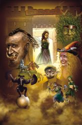 New York Faerie Festival Poster 2012 by Duncan-Eagleson