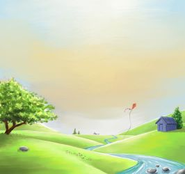 Portfolio background painting by vuurvlam