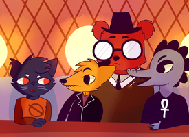Night in the Woods: what? by awokenbyacloud