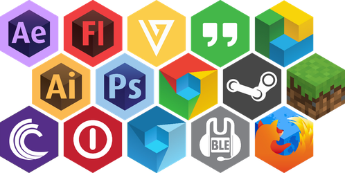 Current Hexicons as of 5/14/14 by Squeemishness