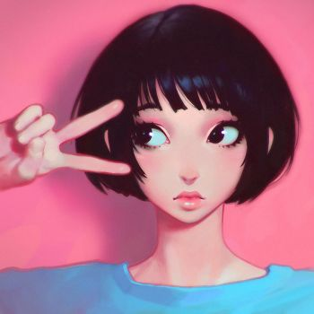 Scissors by Kuvshinov-Ilya