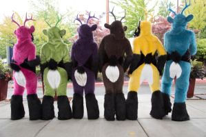 Deer Butts by temperance