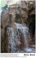 Rainforest Cafe Waterfall.7 by Della-Stock