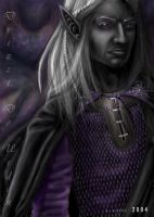 Drizzt Do'Urden by fatedjade