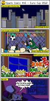 Spark Comic 45 - Euro Cup 2012 by SuperSparkplug