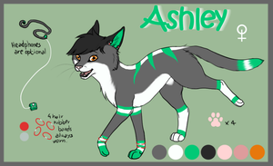 Ashley Reference by OkamiWhitewings