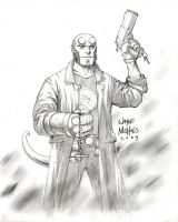Supernova 09 Commish_Hellboy by FlowComa