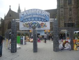 Skylanders Giants Arena Tour: Birmingham 11/7 by RadSpyro