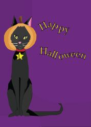 Halloween Greeting Card by Naharin