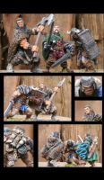 Fantasy Mercenary Minis by Crafty-Jack