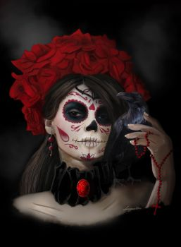 RoseOfTheDead by missimoinsane