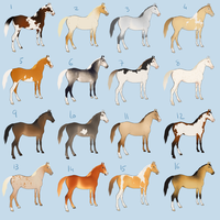 Horse ADOPT - 250pts by BH-Stables