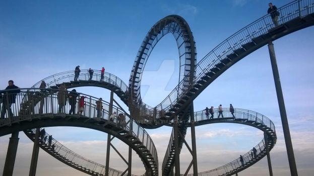 tiger and turtle by Mikrowelle