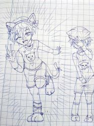 Kitten twins (again) by SimuLANtion