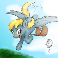 ::Drawing tablet practice:: Derpy 8D by killer-kimmie