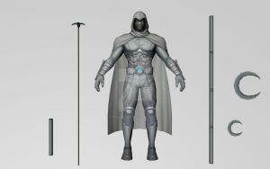 All New Moonknight (3D Models MFF) by Pitermaksimoff