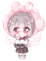 Smol chibi commission for Rinihimme by SparksTea
