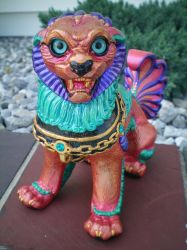 NEW Unnamed Mother Foo Dog FOR SALE on ebay by drag0nfeathers