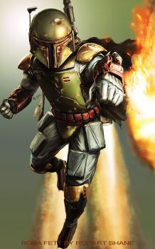 Boba Fett by Robert-Shane