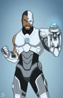 Earth-27 Cyborg [Overt] by Roysovitch