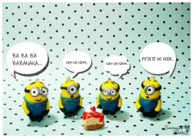 Despicable Me 2 - Minion Banana Song by SentimentalDolliez