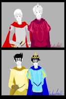 A King A Knight A Prince A Page by uberchicken