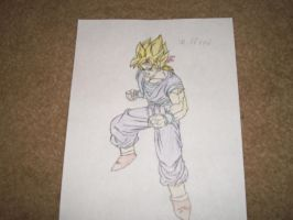 My DBZ character Wilfred V2 by williedude