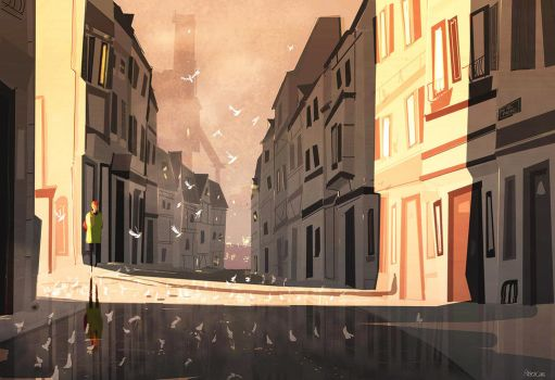 Morning streets by PascalCampion