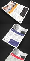 Multipurpose Corporate Flyers, Magazine Ads by env1ro