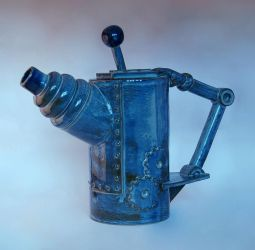 7 Side Mech Tea Pot by Cavor44