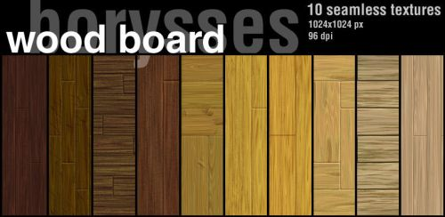 Wood board by borysses