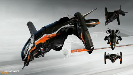 Remember me gunship concept by paooo