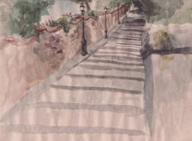 Steps to Michelangiolo by wikkedvenus