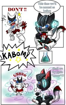 TFG1:- Ratchet _WHJ_ Chibi by JinoSan