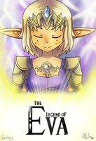 The legend of Eva Colab avec felinar by oce-sky62