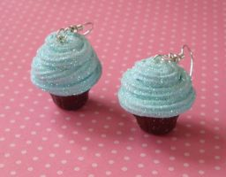 Twinkling cupcakes by PORGEcreations