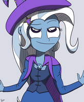 Tricky Trixie by varemiaArt