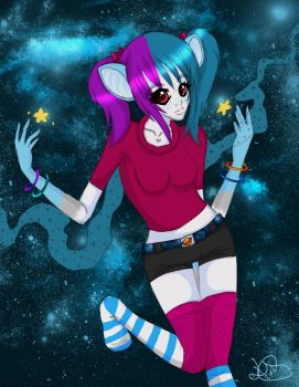 Space Girl by BloodShedRed