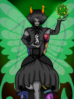 Kanaya Maryam the Sylph of Space by ShinjitsuForever