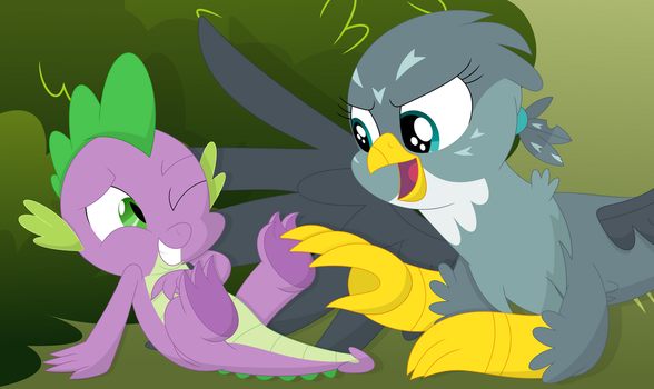 I always wanted to tickle a dragons feet! by Porygon2z