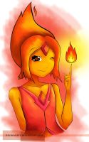 Flame Princess by KevinWerty