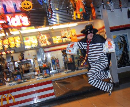 Hamburgler Rides Again by jbescup