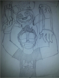 Markiplier in Five Nights at Freddy's 3 by Jackie-and-limbo