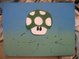 1up canvas by paintisthenewdope